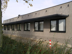 Verticale jaloezieën geplaatst in Beuningen.