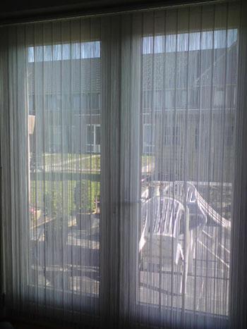 Woning in Heumen voorzien van Vouwgordijnen en Vertical strings.
