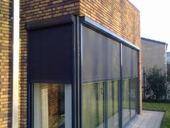 13 Ritsscreens geplaatst op de Notenhof in Beuningen.