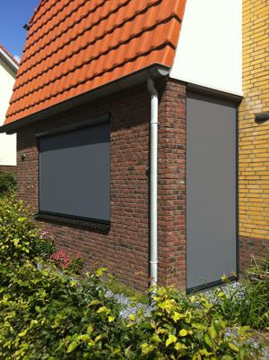 Ritsscreens geplaatst in Oosterhout.