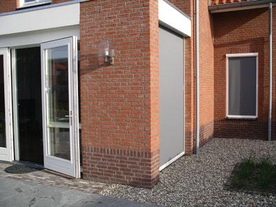 Windvaste screens in Beuningen.